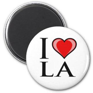 I Love LA - Louisiana Magnet