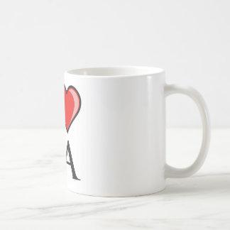 I Love LA - Louisiana Coffee Mug