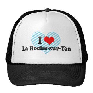 I Love La Roche-sur-Yon France Trucker Hats