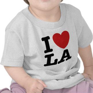 I Love LA T Shirts