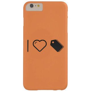 I Love Labels Barely There iPhone 6 Plus Case