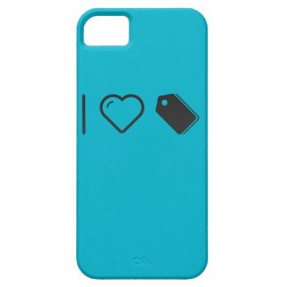 I Love Labels iPhone 5 Case