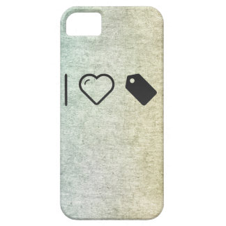 I Love Labels iPhone 5 Cover