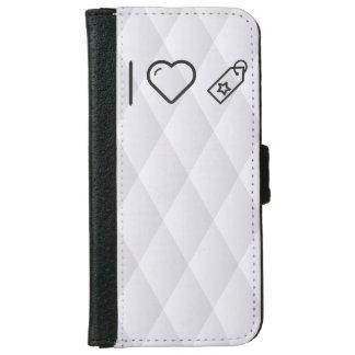 I Love Labels iPhone 6 Wallet Case