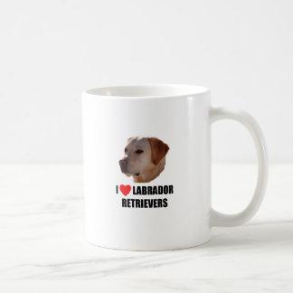 I Love Labrador Retreivers Mug