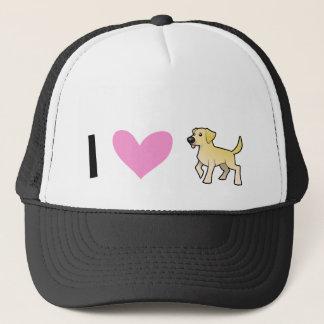 I Love Labrador Retrievers Trucker Hat