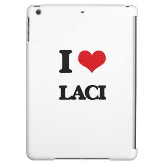 I Love Laci iPad Air Cover
