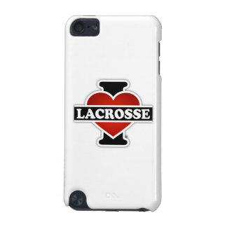 I Love Lacrosse iPod Touch 5G Covers