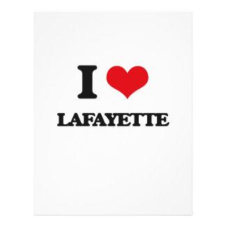 I love Lafayette Full Color Flyer