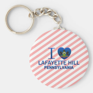 I Love Lafayette Hill, PA Key Chain