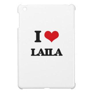 I Love Laila iPad Mini Cases
