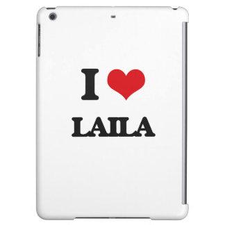 I Love Laila iPad Air Cases