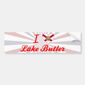 I Love Lake Butler, Florida Bumper Stickers