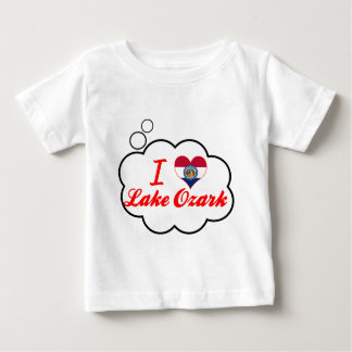 I Love Lake Ozark, Missouri Baby T-Shirt