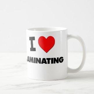 I Love Laminating Mugs