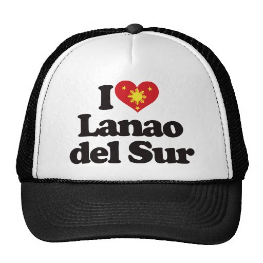 I Love Lanao del Sur Trucker Hats