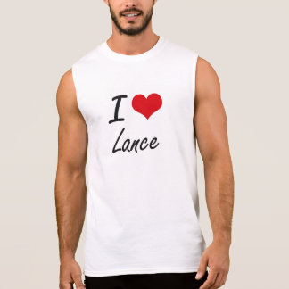 I Love Lance Sleeveless Tees