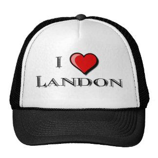 I Love Landon Hats