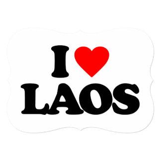 I LOVE LAOS CARD