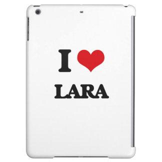 I Love Lara iPad Air Cases