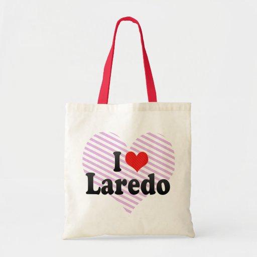 I Love Laredo Tote Bags
