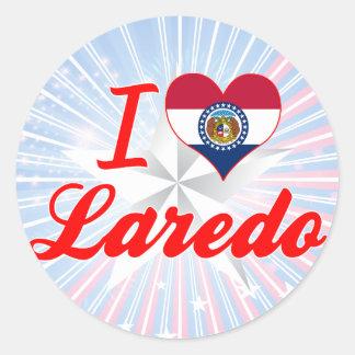 I Love Laredo, Missouri Stickers