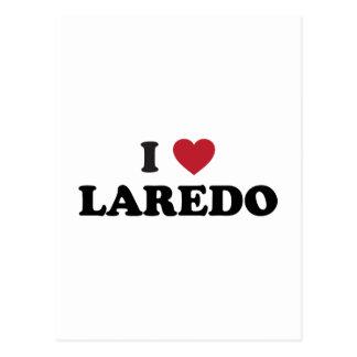 I Love Laredo Texas Postcard