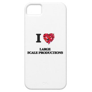 I Love Large Scale Productions Barely There iPhone 5 Case