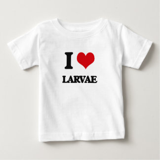 I Love Larvae T-shirts