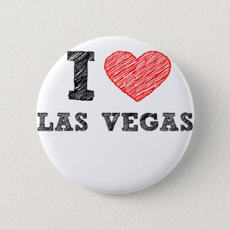 I Love Las Vegas 6 Cm Round Badge