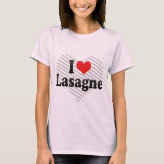 I Love Lasagne T-Shirt