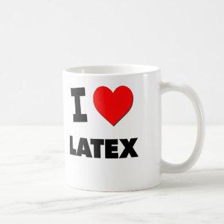 I Love Latex Mug