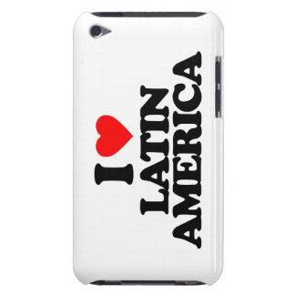 I LOVE LATIN AMERICA iPod Case-Mate CASE