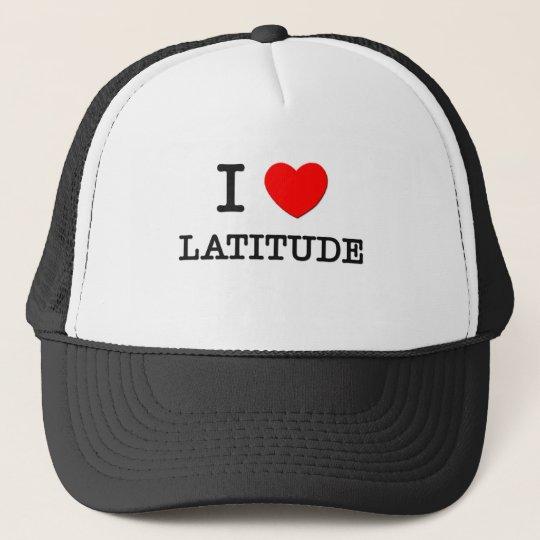 I Love Latitude Cap