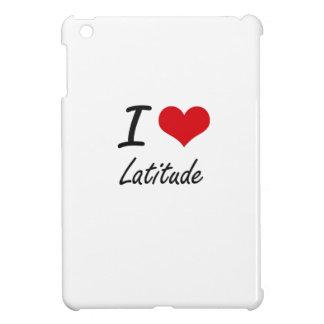 I Love Latitude iPad Mini Cover