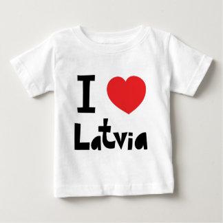 I love Latvia Baby T-Shirt
