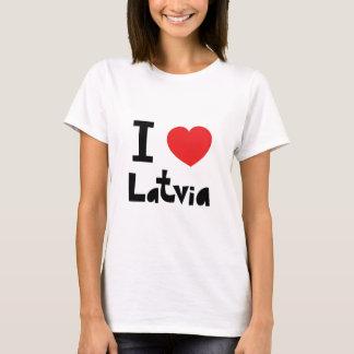 I love Latvia T-Shirt