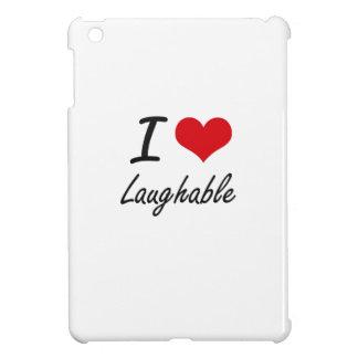 I Love Laughable iPad Mini Cover