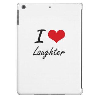 I Love Laughter iPad Air Case