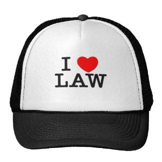 I Love LAW Cap