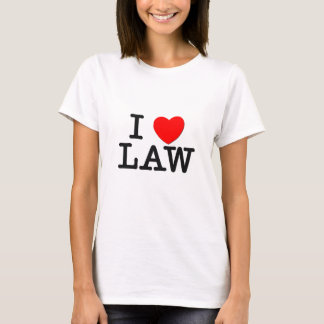 I Love LAW T-Shirt