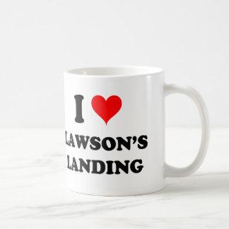 I Love Lawson'S Landing California Basic White Mug