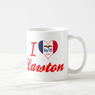 I Love Lawton, Iowa Coffee Mugs