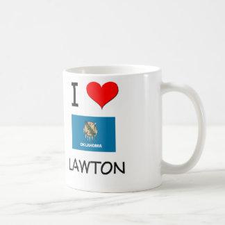 I Love Lawton Oklahoma Mugs