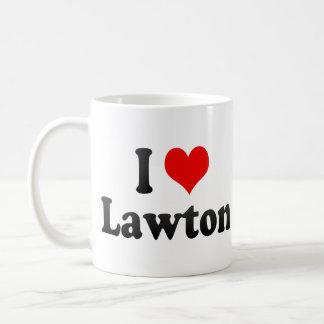 I Love Lawton United States Coffee Mug