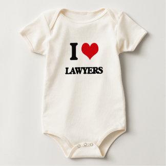 I love Lawyers Baby Bodysuit