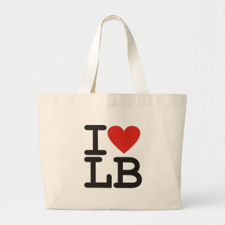 I LOVE LB Tote Bag
