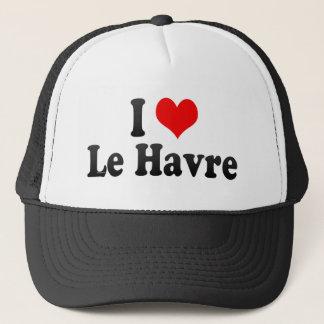 I Love Le Havre, France Trucker Hat