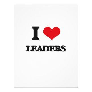 I Love Leaders 21.5 Cm X 28 Cm Flyer