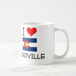 I Love LEADVILLE Colorado Basic White Mug